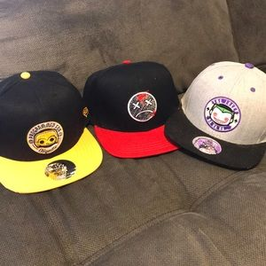 Bundle of 3 Hats- Funko and Lawbreakers 2739df830912